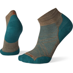 Smartwool PhD Run Light Elite Calcetines de corte bajo, fossil